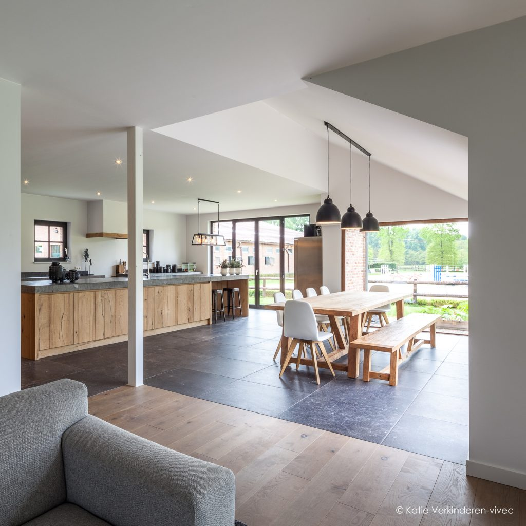 hout in de keuken