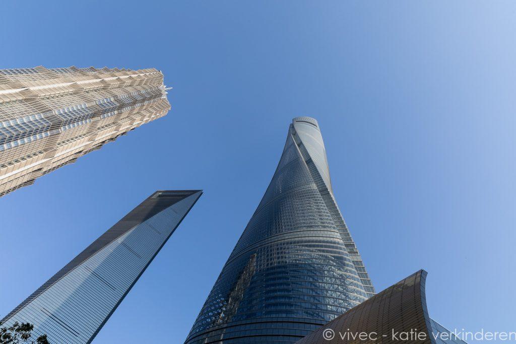 Architectuurfoto Shanghai