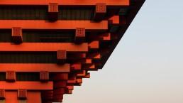 architectuurfoto Chinees Paviljoen Expo 22010 Shanghai